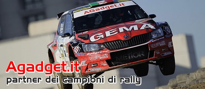 Agadget.it - partner dei campioni di rally
